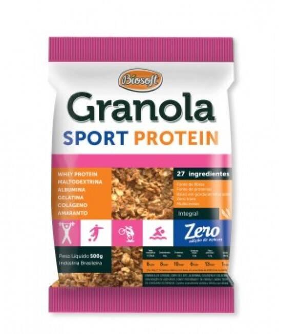 Onde Comprar Granola Sport Zero 500g - Biosoft