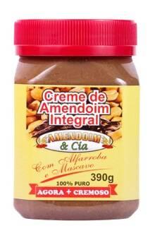 Onde comprar Creme de Amendoim com Alfarroba Açúcar Mascavo sem Glúten 390g - Amend Cia
