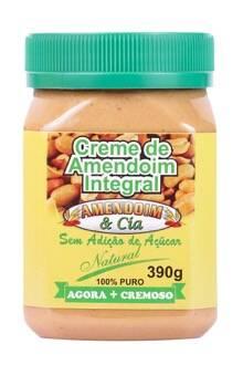 Onde comprar Creme de Amendoim Natural sem Glúten 390g - Amend Cia