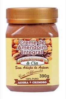 Onde comprar Creme de Amendoim com Alfarroba sem Açúcar sem Glúten 390g - Amend Cia