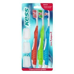 Onde comprar Escova Dental Kess Plus Mc L3 P2