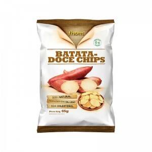 Onde comprar Batata Doce Chips 45g - Fhom