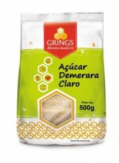 Onde comprar Açúcar Demerara Claro 500gr - Grings