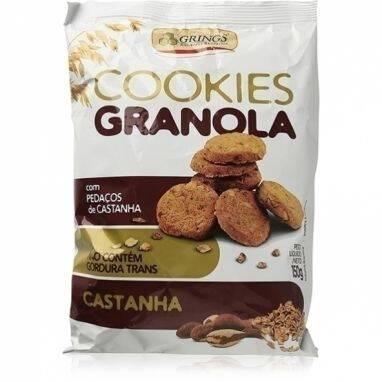 Onde comprar Cookies Granola e Castanha 150g - Grings
