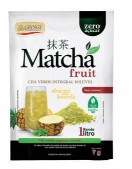 Onde comprar Matcha Detox Chá Verde Abacaxi com Hortelã - Grings