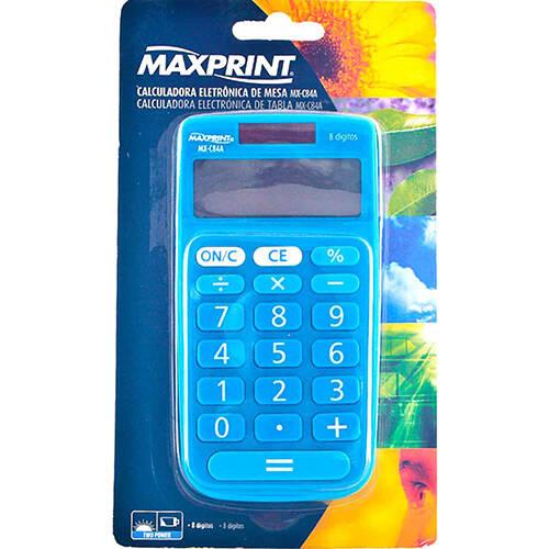 Onde comprar Calculadora Eletrônica De Mesa Azul Mx-c84a - Maxprint