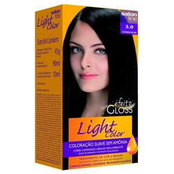 Onde comprar Kit Tintura Light Color Salon Line Castanho Escuro 3.0