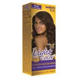 Onde comprar Tintura Light Color Salon Line 4.0 Castanho Médio
