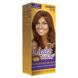 Onde comprar Tintura Light Color Salon Line 7.7 Marrom Dourado