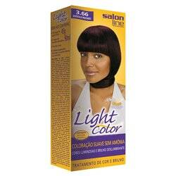 Onde comprar Tintura Light Color Salon Line 3.66 Bordeaux Profundo