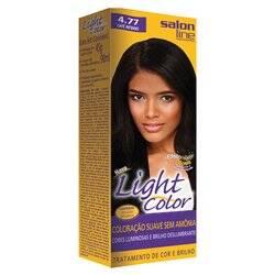 Onde comprar Tintura Light Color Salon Line 4.77 Café Intenso