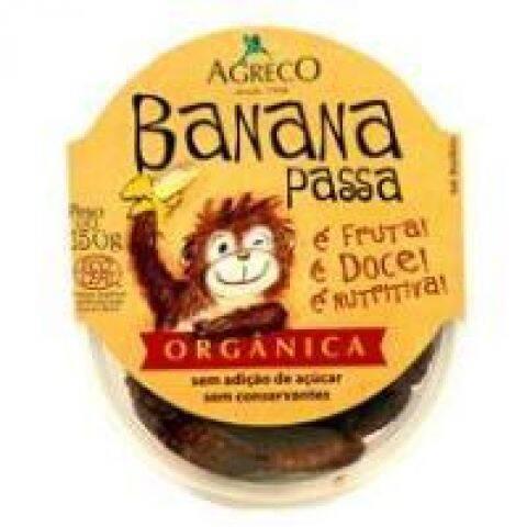 Onde comprar Banana Passa Orgânico 150g - Agreco