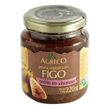 Onde comprar Geleia de Figo Orgânica 220g - Agreco