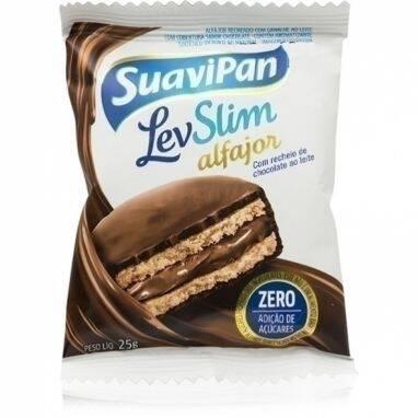 Onde comprar Alfajor Levslim Chocolate Suavipan 25g - Do Bem