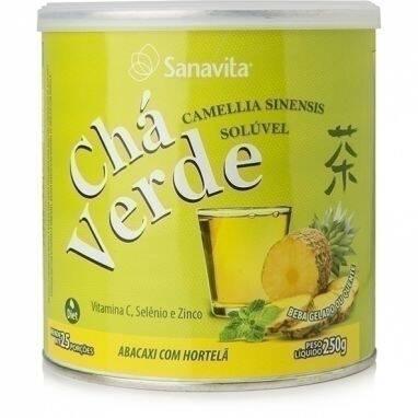 Onde comprar Chá Verde Abacaxi e Hortelã 250g - Sanavita