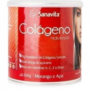 Onde comprar Colágeno Morango e Açaí 300g - Sanavita