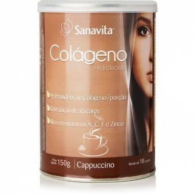 Onde comprar Colágeno Cappuccino 150g - Sanavita