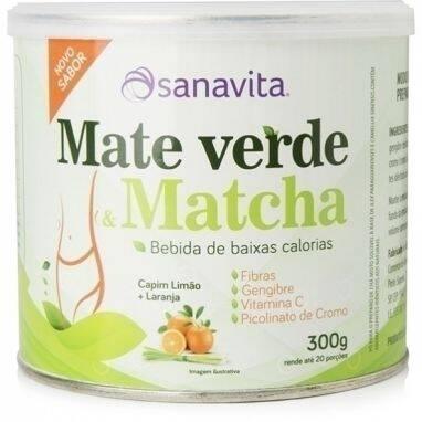 Onde comprar Mate Verde e Matcha Capim Limão e Laranja 300g - Sanavita