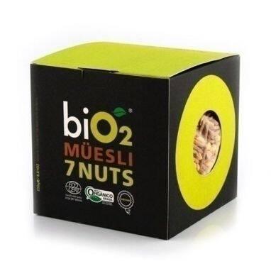 Onde comprar Muesli sem Glúten 7 Nuts 250g - Bio2