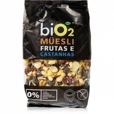 Onde comprar Muesli sem Glúten Frutas e Castanhas 250g - Bio2