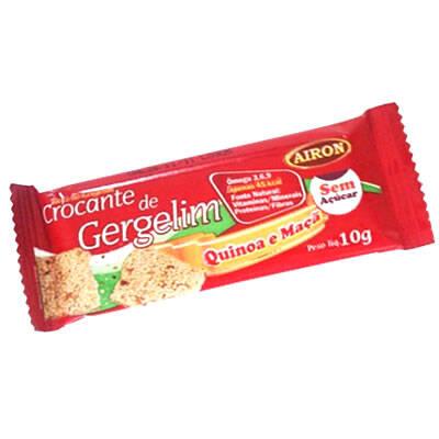 Onde comprar Crocante Gergelim Quinoa e Maça 10g - Airon