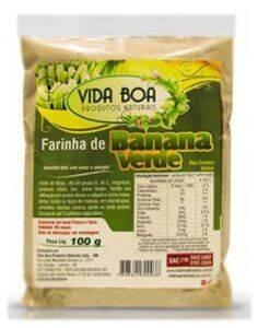 Onde comprar Farinha de Banana Verde 100g - Vida Boa