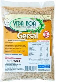 Onde comprar Gersal 100g  Vida Boa