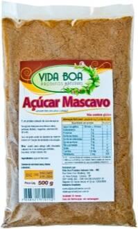 Onde comprar Açúcar Mascavo 500g - Vida Boa