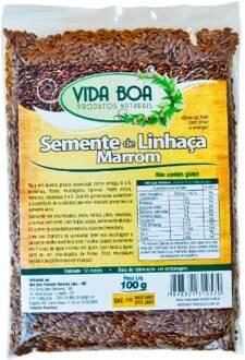 Onde comprar Semente Linhaça Marron 200g - Vida Boa