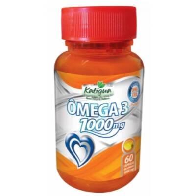 Onde comprar Ômega 3 60 cápsulas 1000mg Katigua