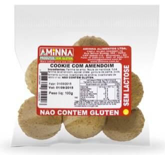 Onde comprar Cookie Sem Glúten Com Amendoim 100g - Aminna