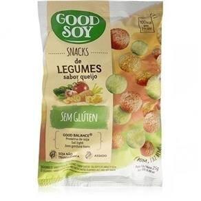 Onde comprar Snack De Soja Legumes Ao Queijo 25g - Good Soy