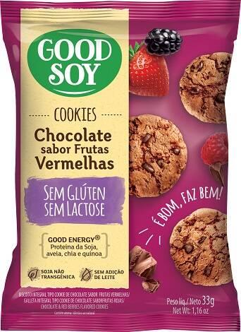 Onde comprar  Cookies Sabor Chocolate com Frutas Vermelhas  - GoodSoy