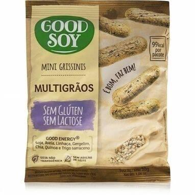 Onde comprar Mini Grissinis Multigrãos Sem Gluten e Sem Lactose - GoodSoy