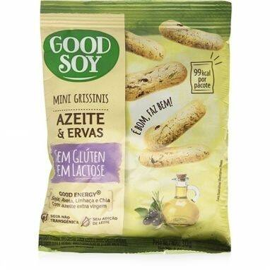 Onde comprar Mini Grissinis Azeite e Ervas Sem Gluten e Sem Lactose - GoodSoy