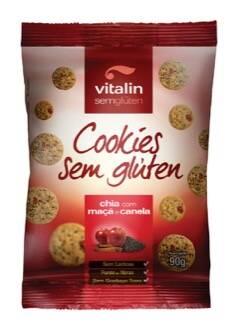 Onde comprar Cookies Sem Glúten Chia com Maçã e Canela 90g - Vitalin